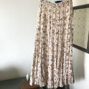 Denim and Supply Boho Maxi Skirt